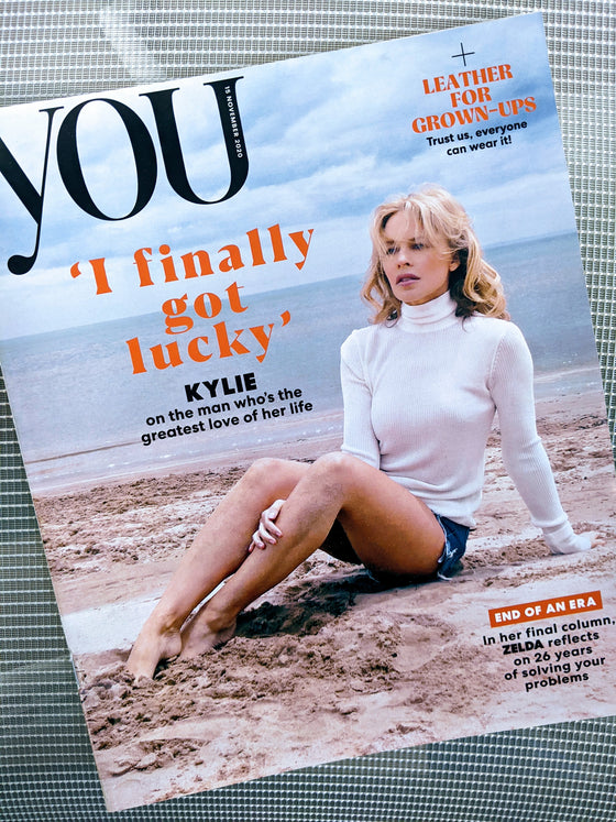 YOU magazine November 2020 Kylie Minogue cover and interview