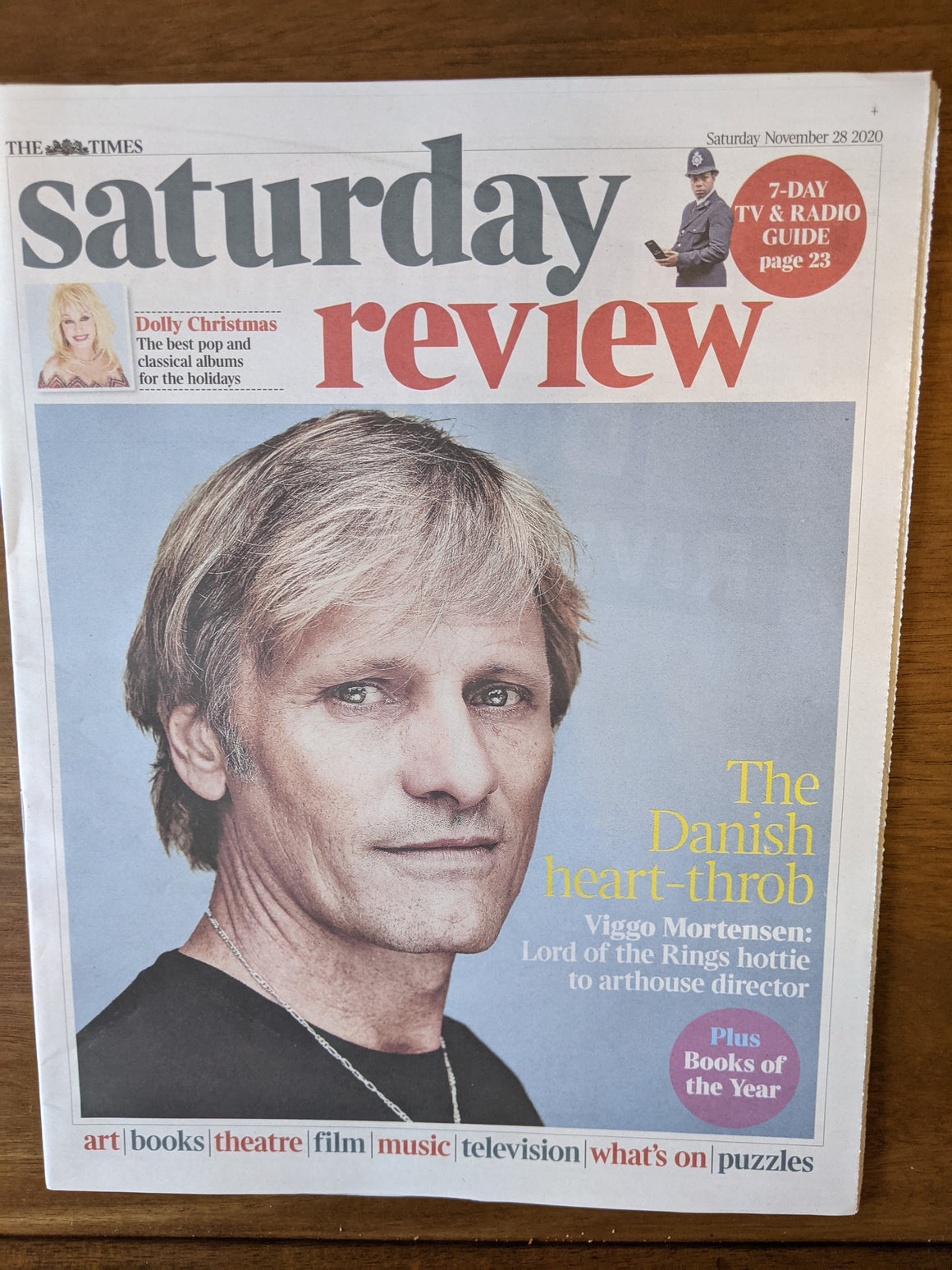 UK Times Review November 2020: VIGGO MORTENSEN COVER FEATURE