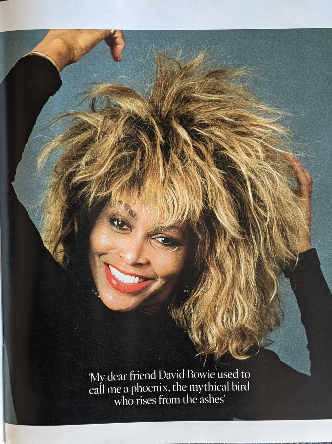 UK Times Magazine December 2020: TINA TURNER interview