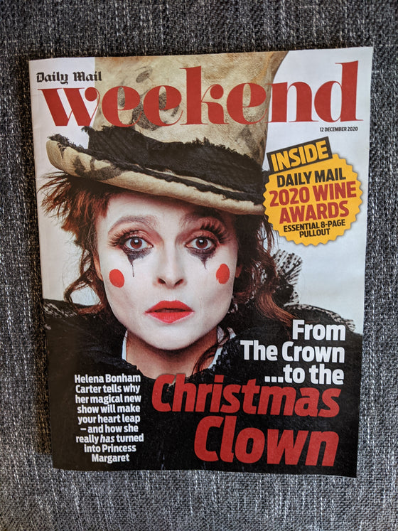 UK WEEKEND Magazine 12/2020 HELENA BONHAM CARTER John Barrowman JODIE WHITTAKER