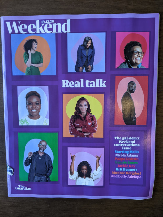 GUARDIAN Magazine December 2020: SPICE GIRLS MEL B MELANIE BROWN Gal Dem Issue