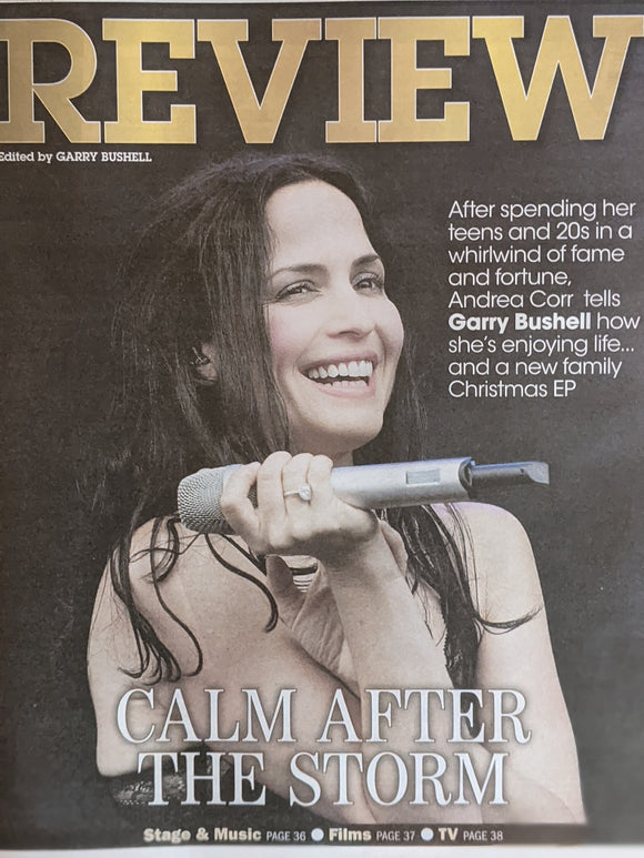 UK Express Review 20 December 2020 Andrea Corr The Corrs