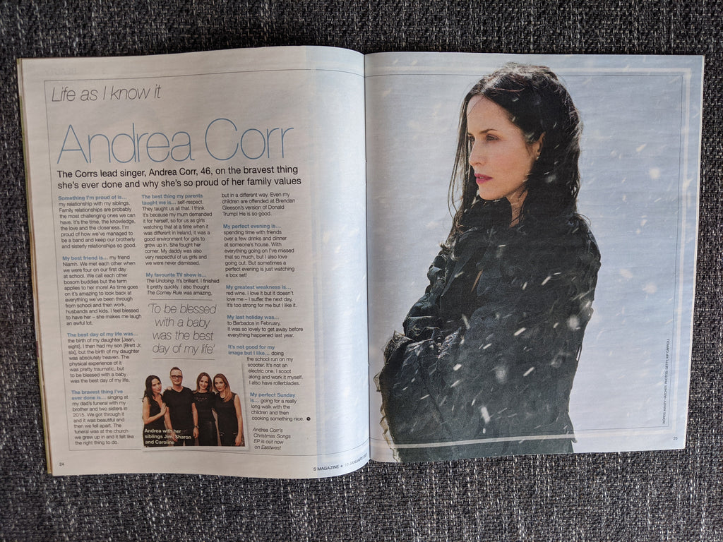 S EXPRESS Magazine 01/2021: ANDREA CORR The Corrs SUSIE VANNER James Bond