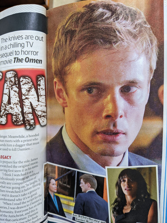 UK TV & Satellite Magazine 23 Jan 2021 Bradley James Damien