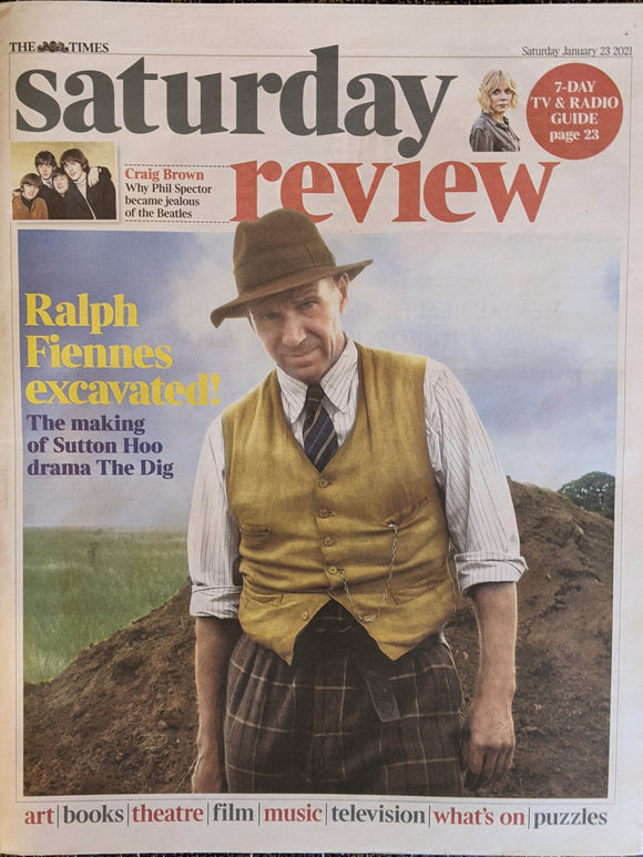 Times Review 23rd Jan 2021 The Beatles Phil Spector Ralph Fiennes