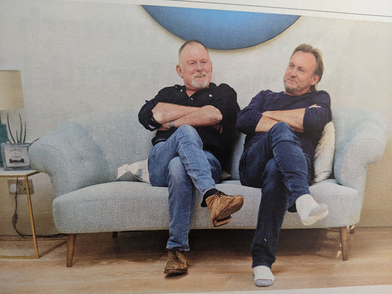SUNDAY TIMES Magazine 01/2021: PHILIP GLENISTER & ROBERT Life on Mars Interview