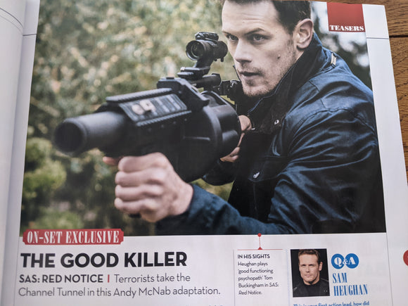 Total Film Magazine #308 Sam Heughan SAS: Red Notice