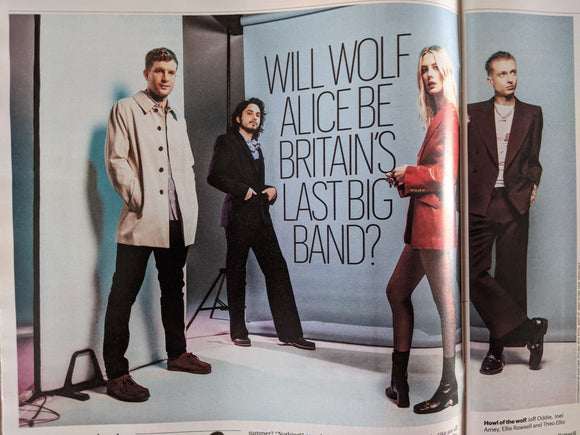 UK CULTURE Magazine February 2021: WOLF ALICE COVER FEATURE Nicola Walker
