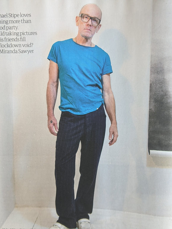 UK Guardian Weekend Magazine April 24th 2021: Michael Stipe REM Interview
