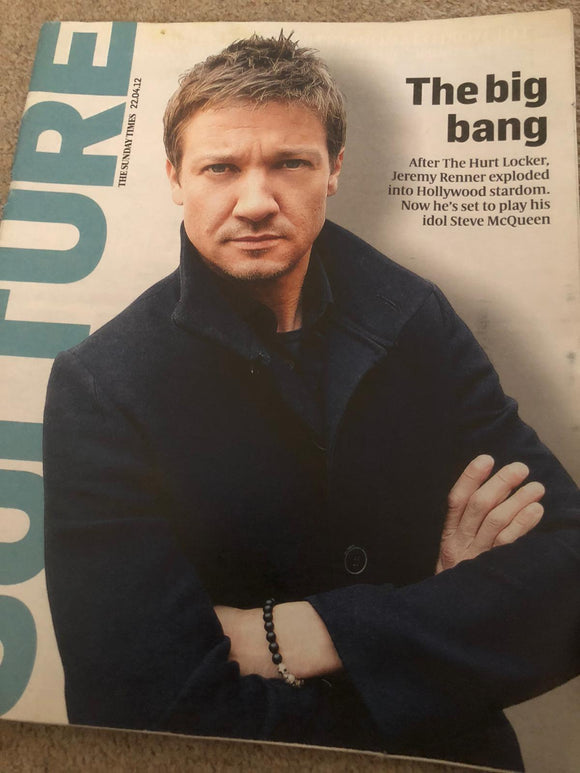 UK Culture Magazine April 2012: Jeremy Renner Cover