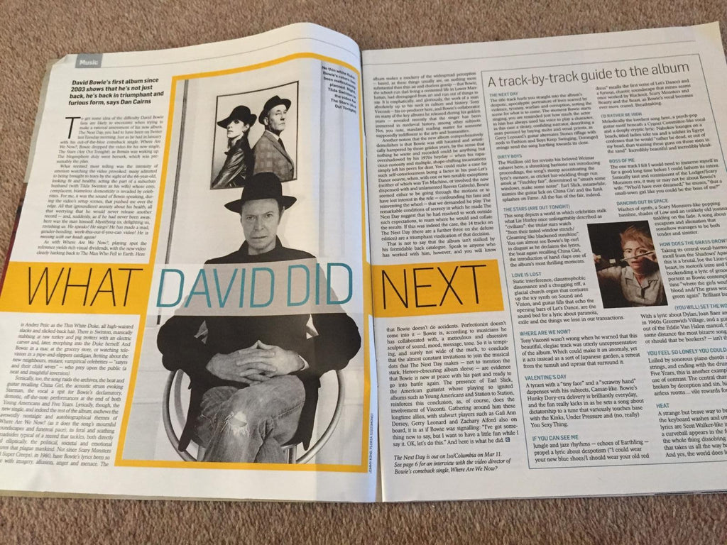 UK Culture Magazine March 2013: David Bowie - What David Did Next
