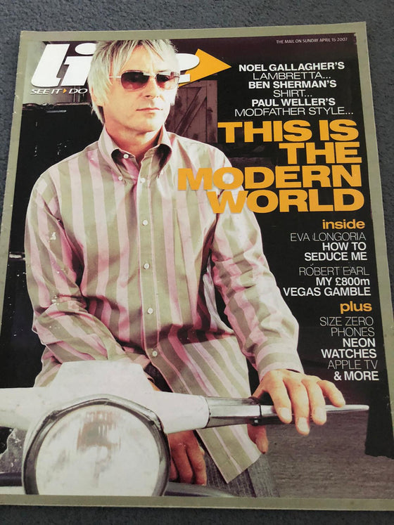 UK Live Magazine April 2007 Paul Weller Exclusive