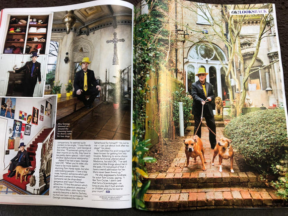 UK OK! Magazine June 2020: Boy George At Home