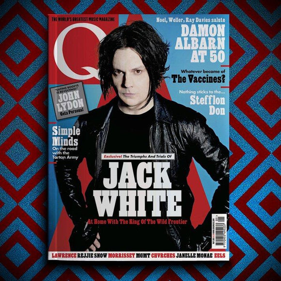 UK Q Magazine MAY 2018: JACK WHITE The White Stripes SIMPLE MINDS Damon Albarn