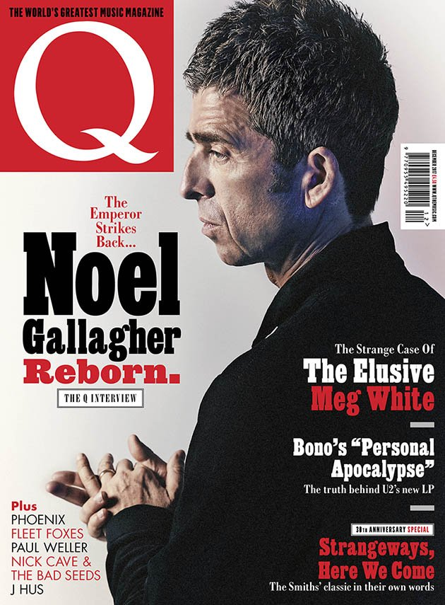 Q Magazine December 2017 Noel Gallagher cover