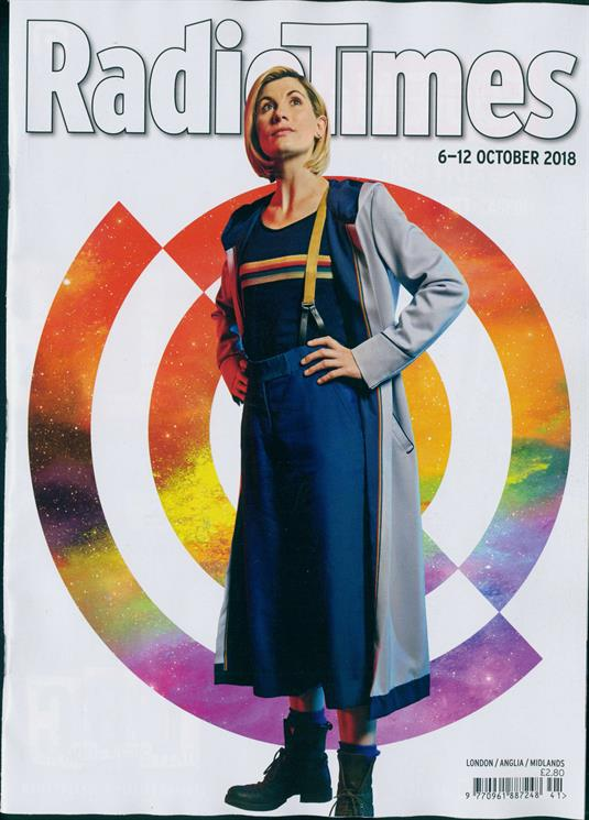 UK RADIO TIMES magazine 6 October 2018 Jodie Whittaker Doctor Who Exclusive