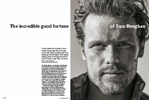 UK Red Bulletin Magazine October 2018: Outlander Sam Heughan Interview