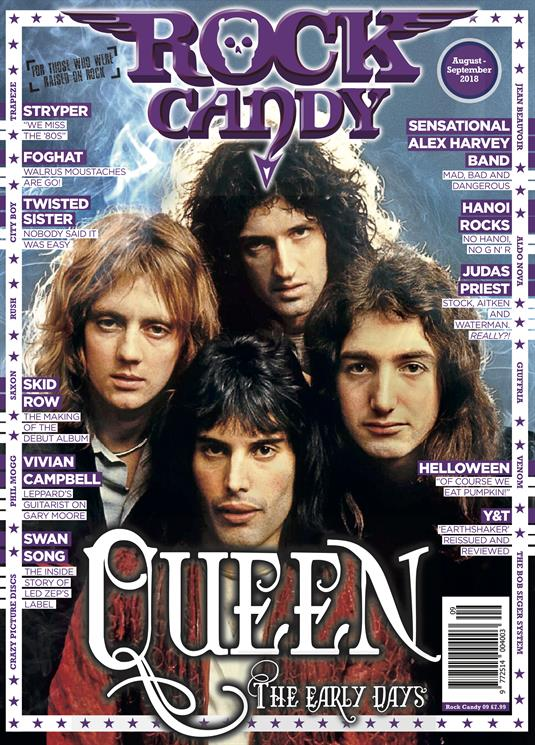 Rock Candy Magazine Issue Issue 9 QUEEN Freddie Mercury - The Early Years