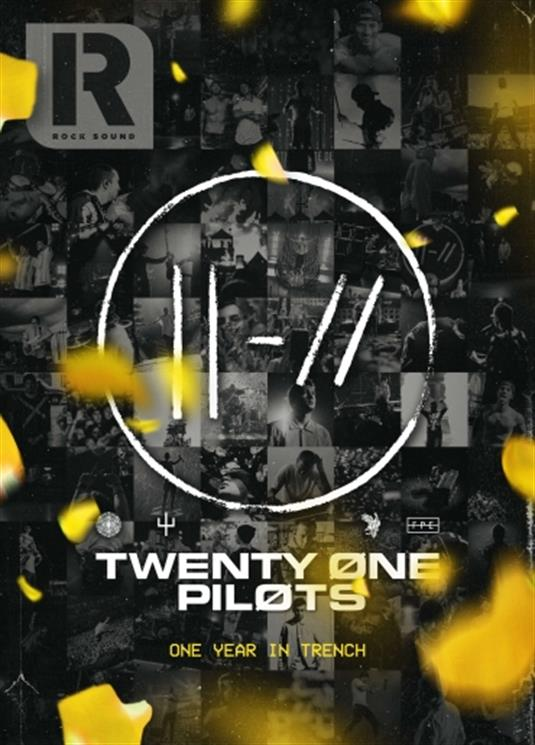 ROCK SOUND magazine - October 2019 TWENTY ONE PILOTS - ONE YEAR IN TRENCH