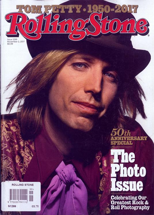 Rolling Stone Magazine November 2017 Tom Petty 1950-2017 Special Tribute Edition