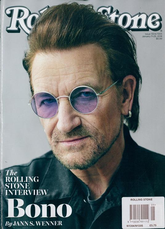 US Rolling Stone Magazine #1304 Bono of U2 Cover Interview