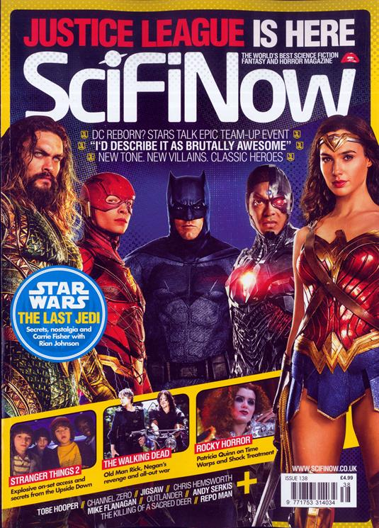 Sci Fi Now Magazine Issue #138 Justice League Gal Gadot Wonder Woman