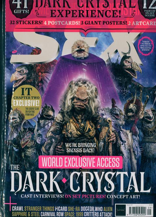 SFX Magazine Sept 2019: THE DARK CRYSTAL WORLD EXCLUSIVE ACCESS + FREE GIFTS Caitriona Balfe