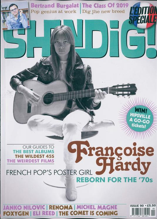 Shindig magazine Issue 90: Françoise Hardy COVER AND FEATURE