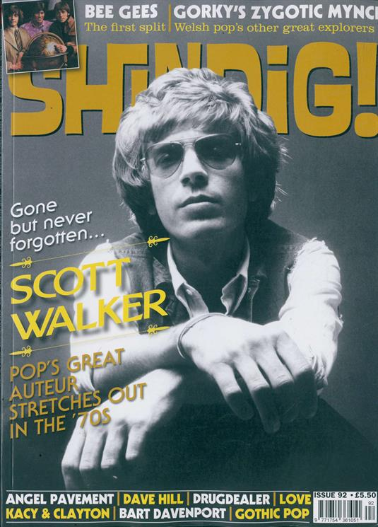 Shindig Magazine - Issue 92 Scott Walker Cover And Feature - Bee Gees Dave Hill