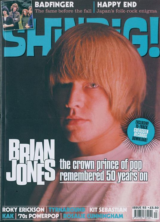 Shindig Magazine - Issue 93 BRIAN JONES (The Rolling Stones) Cover - Badfinger Special