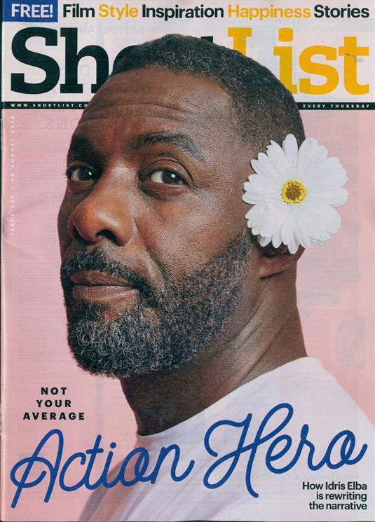 Shortlist Magazine August 2018: IDRIS ELBA COVER STORY