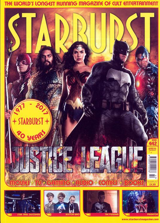 Starburst Magazine November 2017 Justice League Cover