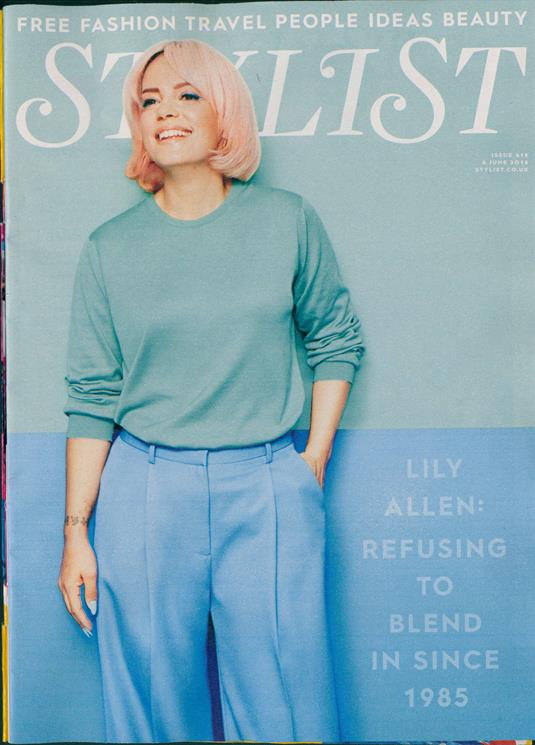 UK Stylist Magazine June 2018: LILY ALLEN COVER FEATURE