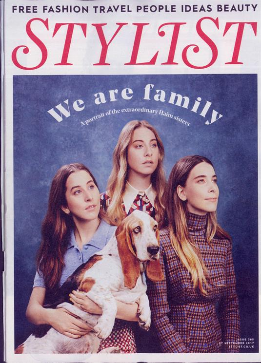 Stylist Haim Cover Magazine
