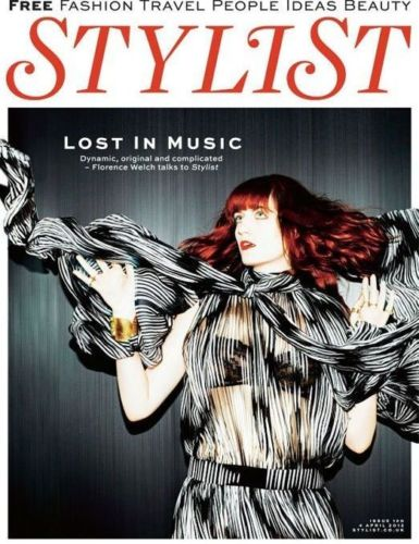 STYLIST Magazine April 2012: Florence Welch Florence and the Machine