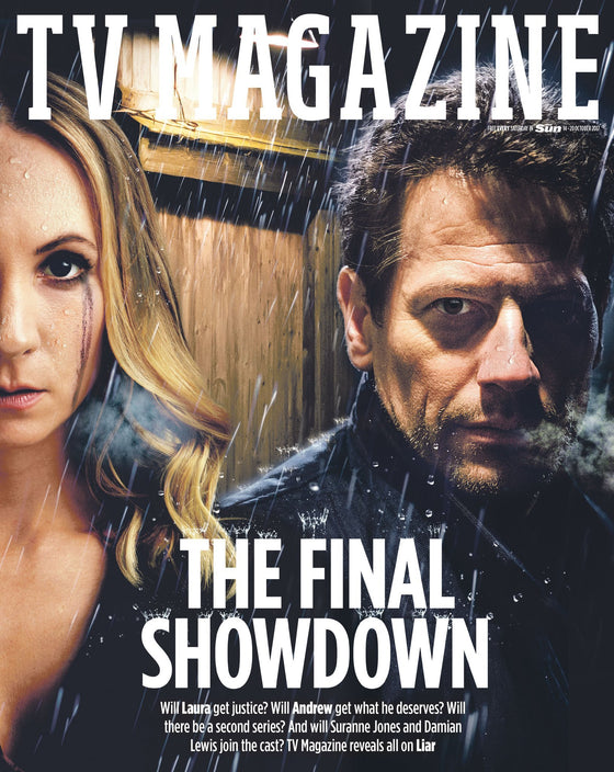 UK TV Magazine 14th October 2017 George Michael Ioan Gruffudd Joanne Froggatt