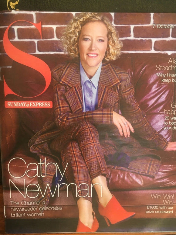 UK S Magazine October 2018: JOSH GROBAN Cathy Newman GREG WISE Sharon Carpenter
