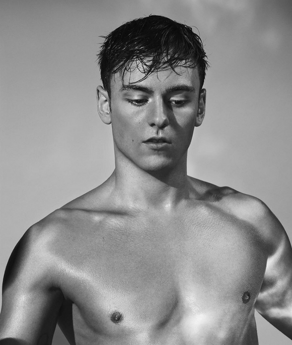 UK Guardian Weekend Magazine Feb 2020: Tom Daley Cover
