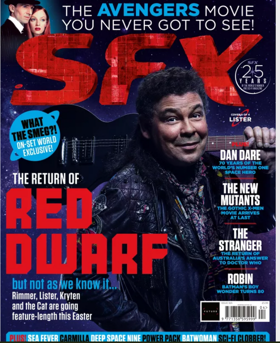 SFX magazine #325 April 2020: The Return of Red Dwarf + ALL FREE GIFTS - LISTER