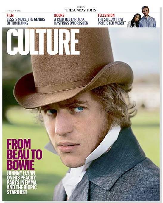 UK Culture Magazine Feb 2020: Johnny Flynn on David Bowie