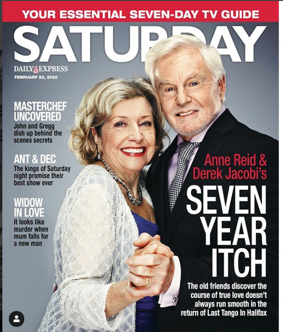SATURDAY Magazine 2/2020 DEREK JACOBI Anne Reid LAST TANGO IN HALIFAX Tracy Shaw