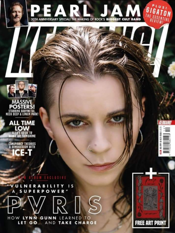 Uk Kerrang Magazine March 2020 PVRIS & Exclusive Art Print