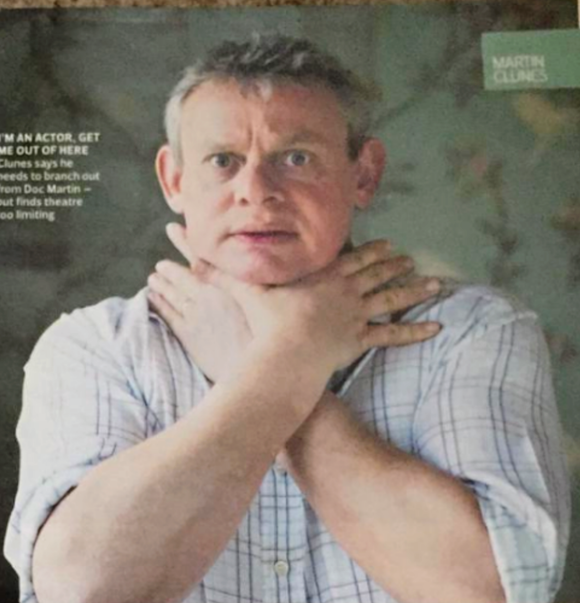 Sunday Times Magazine April 1st 2012: Martin Clunes interview