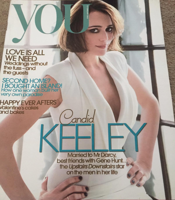 You magazine - Keeley Hawes cover (12 February 2012)