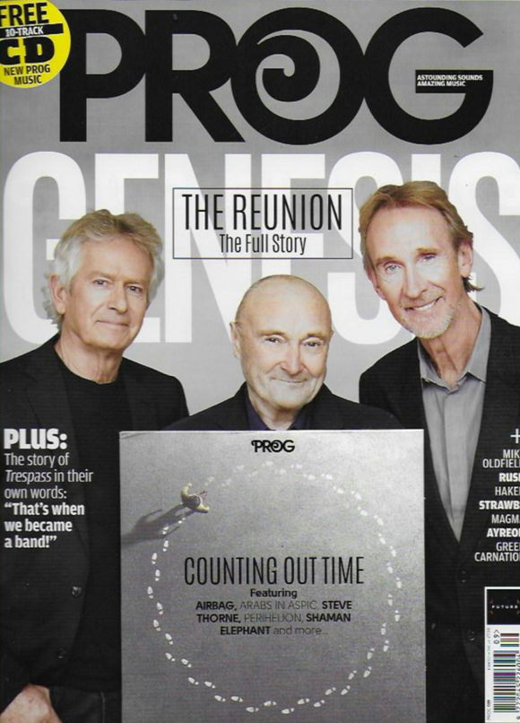 UK Prog Magazine May 2020: Genesis - The Reunion Phil Collins