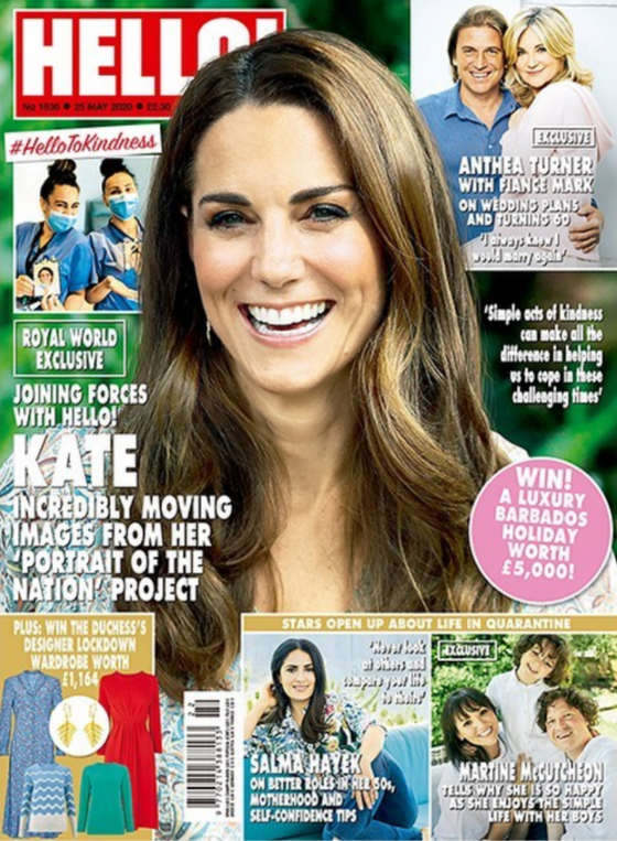 UK Hello! Magazine May 2020: KATE MIDDLETON NEW EXCLUSIVE PHOTOS