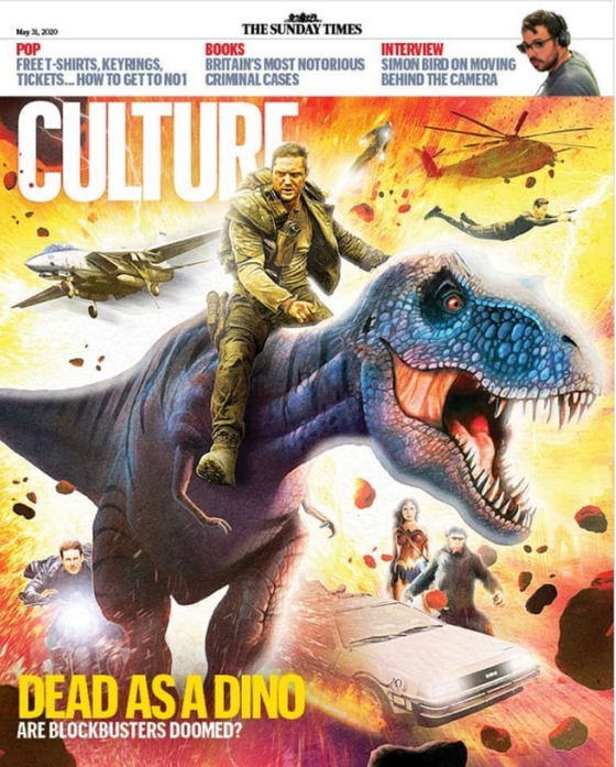 UK CULTURE Magazine May 2020: TOM HARDY Mad Max GAL GADOT Wonder Woman 1984