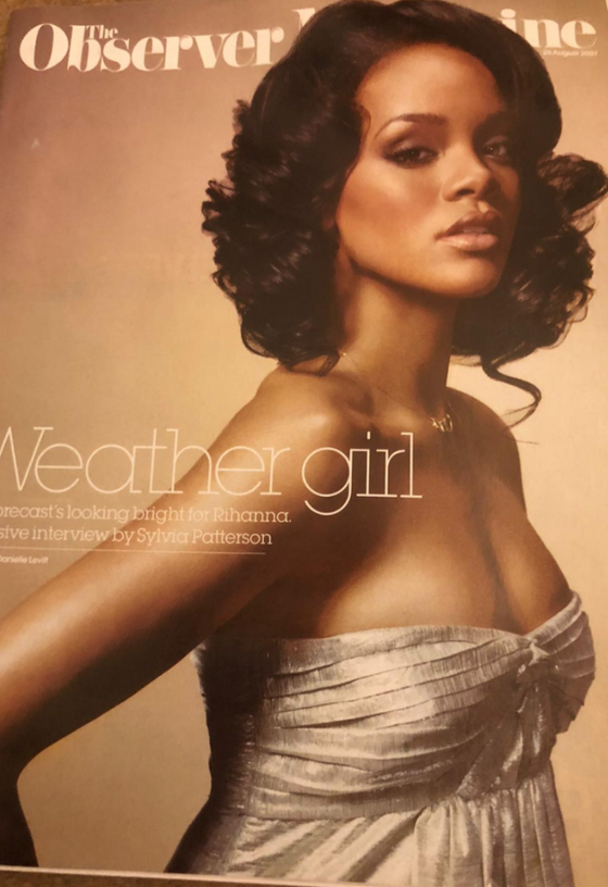 Rihanna - The Observer Magazine - September 2007