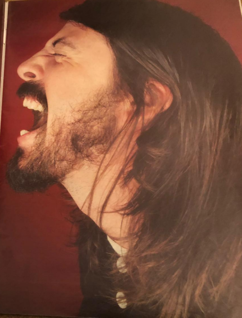 UK Observer Magazine 9 September 2007 Dave Grohl Foo Fighters