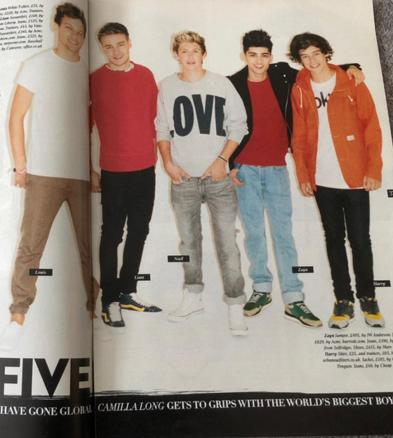 UK Style Magazine Sept 2012: One Direction Harry Styles Louis Tomlinson Niall Horan